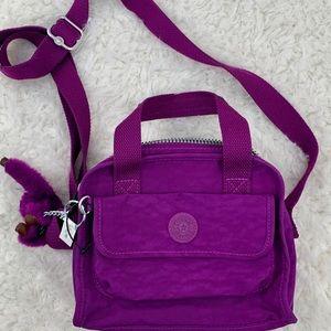 🦩Kipling🦩 purple crossbody NWOT